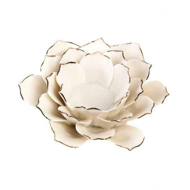 Blooming Flower Candle Holder - Wayfair