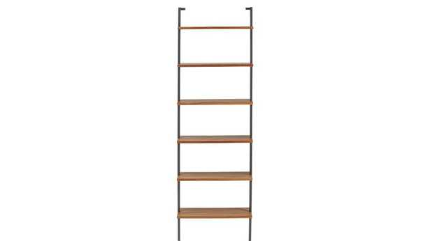 "Helix 96"" Acacia Bookcase - CB2"
