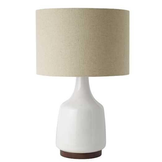 Morten Table Lamp - White - West Elm
