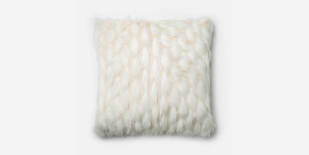 P0265 White Pillow - With Insert - Loma Threads