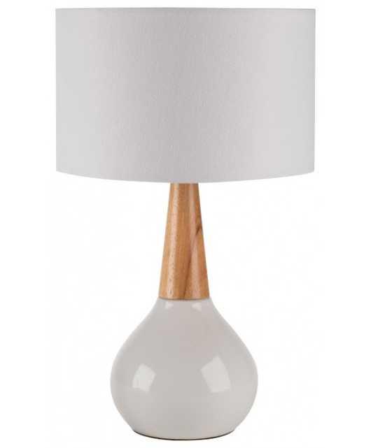 CALUK LAMP, WHITE - Lulu and Georgia