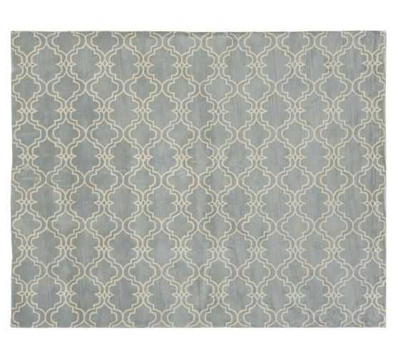 Scroll Tile Rug - 9 x 12 - Pottery Barn
