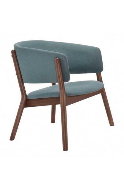 Chapel Lounge Chair Blue - Zuri Studios