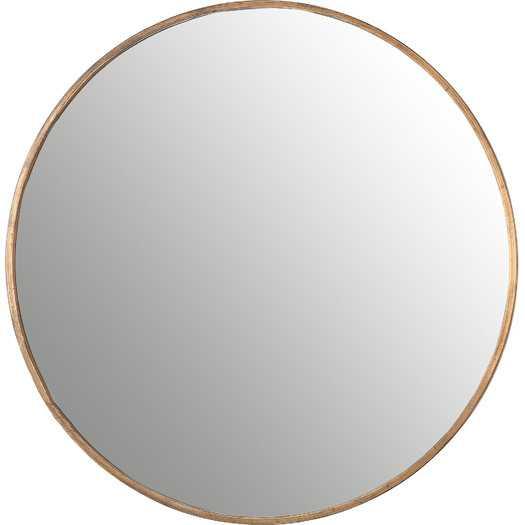 Bronwyn Round Mirror - AllModern