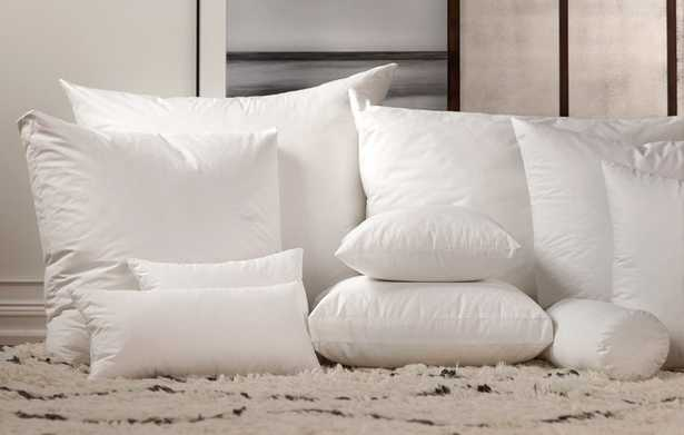 """Down Pillow Insert - 12"""" x 23"""": Havenly Recommended Basic - Noble Feather Co."""