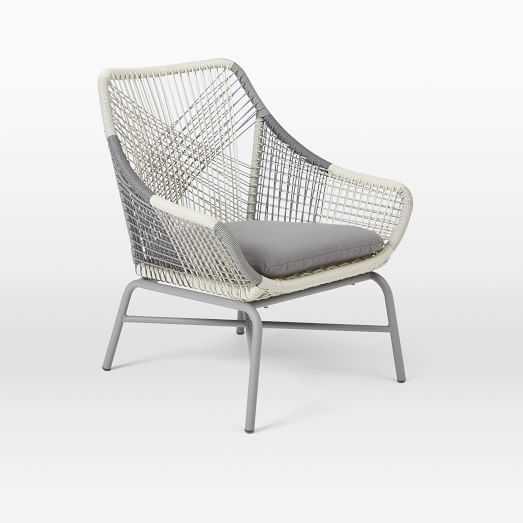 Huron Small Lounge Chair + Cushion - West Elm