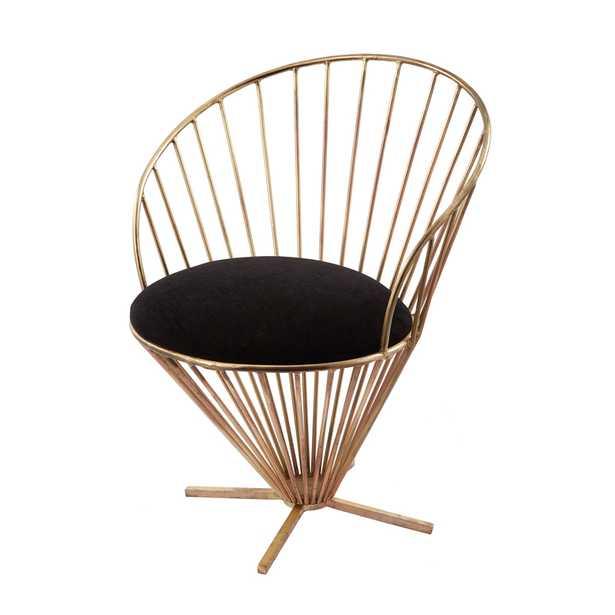 Iron Taper Wire Chair - Rosen Studio