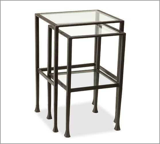 Tanner Nesting Side Tables - Set of 2 - Pottery Barn