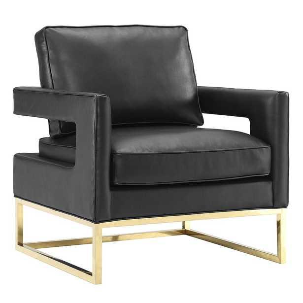 Aubrey Black Joanna Chair - Maren Home