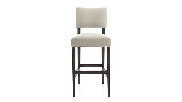Cody Upholstered Bar Stool - Sand - Crate and Barrel