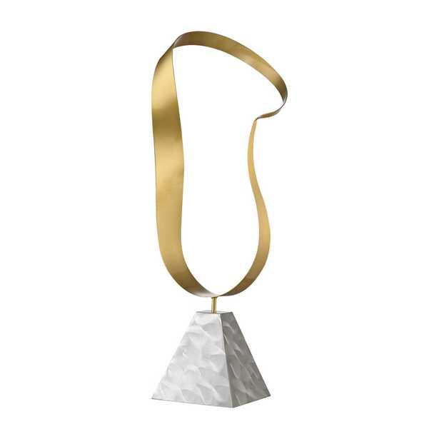 Metal Hoop Table Top Sculpture - Rosen Studio