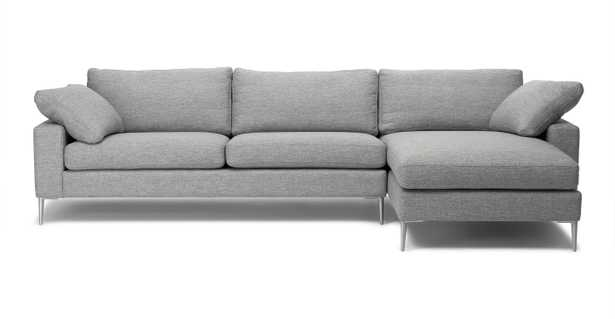Nova Sectional - Winter Gray (Right) - Article