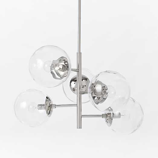 Blown Glass Chandelier - Asymmetrical - West Elm