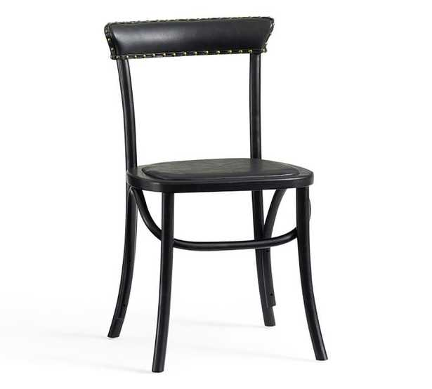 Lucas Chair - BLACK - Pottery Barn