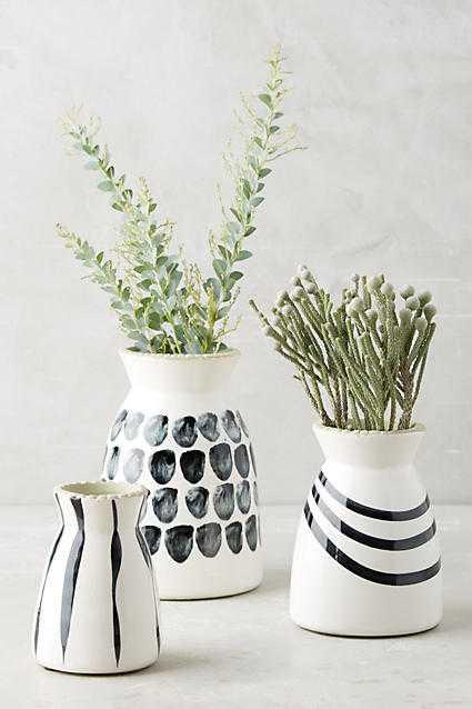 Kupio Handpainted Vase - Set of 3 - Anthropologie