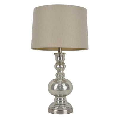 """29.5"""" H Table Lamp with Drum Shade - Wayfair"""