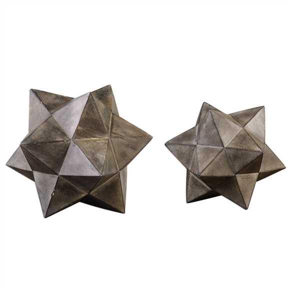 Geometric Stars, Set/2 - Hudsonhill Foundry