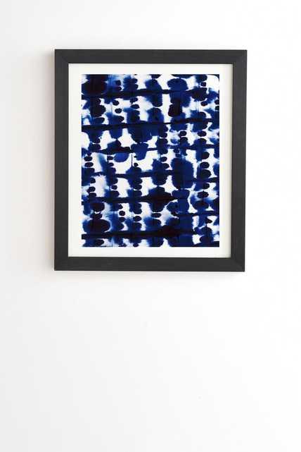 "PARALLEL Framed (Black) Wall Art - 8"" x 9.5"" - Wander Print Co."