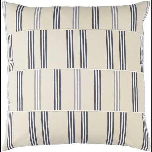 """Lina INA-002 - 20"""" x 20"""" Pillow Shell with Down Insert - Neva Home"""