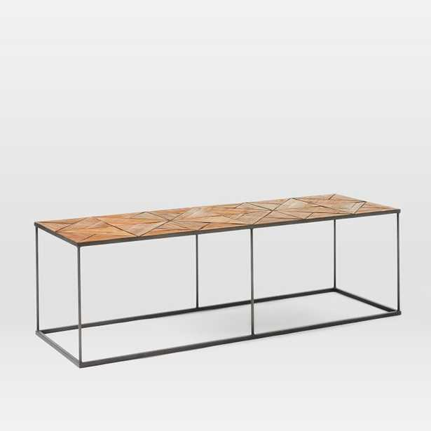 Faceted Wood Coffee Table - West Elm