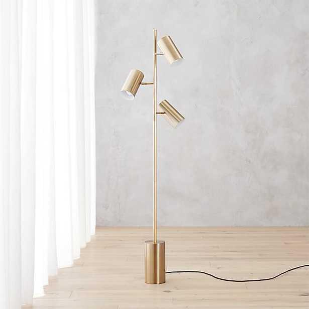 Trio floor lamp - CB2