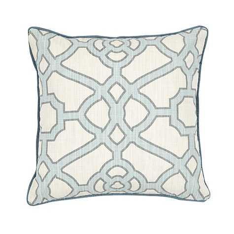 Meyers Pillow - Feather -Sky -Down Insert - Ballard Designs