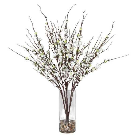Quince Blossoms, Silk Centerpiece - Hudsonhill Foundry