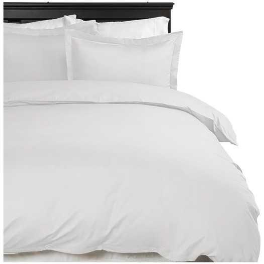 Simply Soft™ Duvet Cover Set  - White, Queen - AllModern