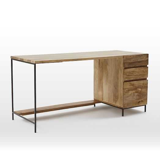 Industrial Modular Desk Set – Box File - West Elm