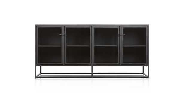 Casement Black Large Sideboard - Crate and Barrel