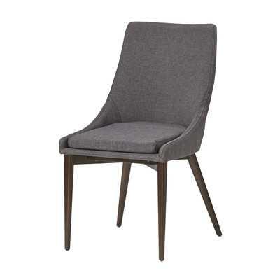 Bedoya Parsons Chair, Dark Grey - Set of 2 - Wayfair