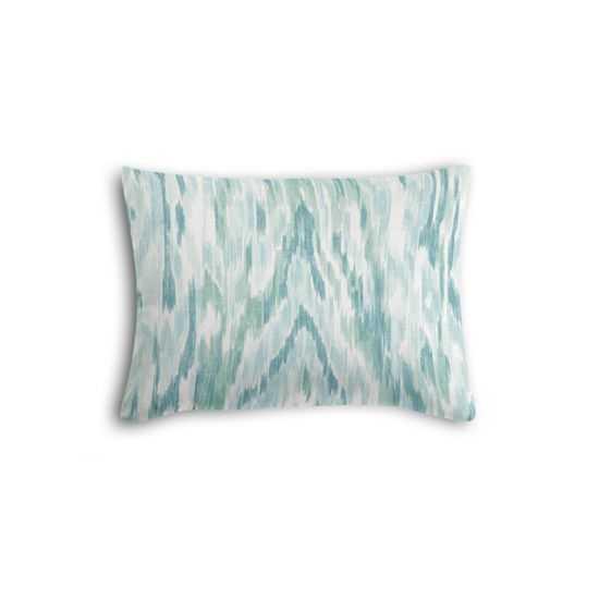 "Boudoir Pillow Mirage - Surf -  12"" x 16"" - Poly Fiber Insert - Loom Decor"