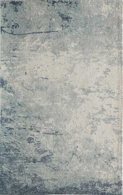 """IL-03 BLUE Rug - 7'6"""" x 9'6"""" - Sera Rugs"""