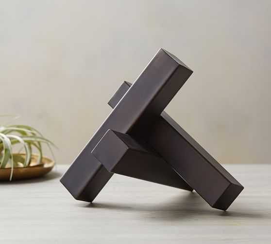 Sculptural Metal Object - Pottery Barn