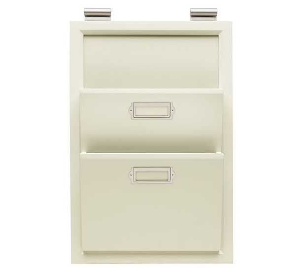 Daily System Components - White - Letter Bin - Pottery Barn