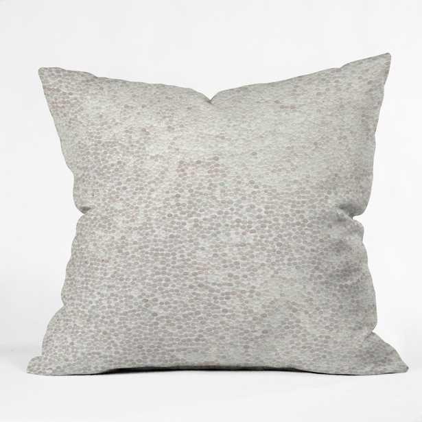 SNOWBALLS Throw Pillow - With Insert - Wander Print Co.