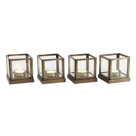 Le Marais Tea Light Holders - Set of 4 - Ballard Designs