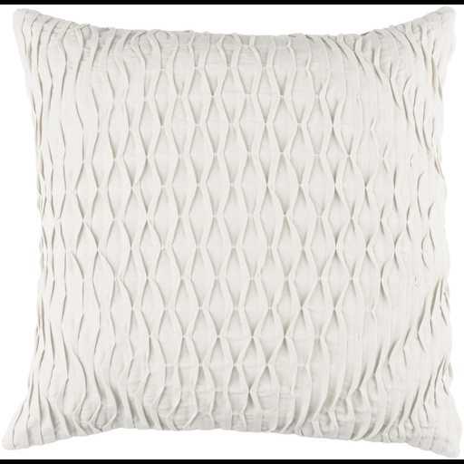 """Baker BK-005 - 18"""" x 18""""  Pillow Shell with Down Insert - Neva Home"""