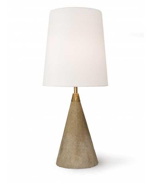 Bente Table Lamp-Stone - Lulu and Georgia
