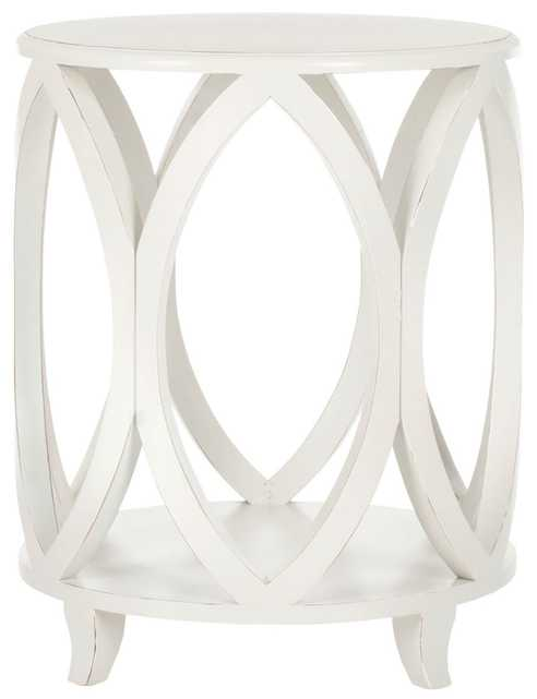 Janika Accent Table - Off White - Arlo Home