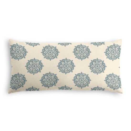 Lumbar Pillow  Multi Medallionaire - Niagara - down insert - Loom Decor