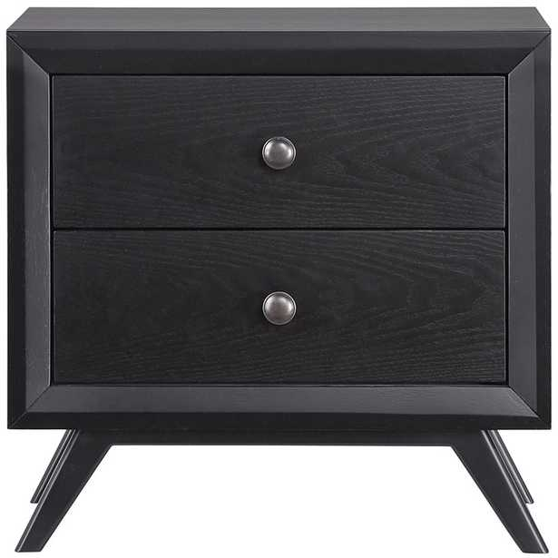 TRACY NIGHTSTAND - BLACK - Modway Furniture