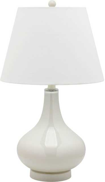 AMY GOURD GLASS LAMP - SET OF 2 - Arlo Home