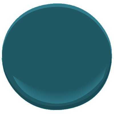 Benjamin Moore ben - Galapagos turquoise (Sample) - Benjamin Moore