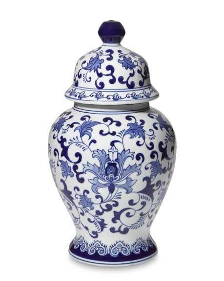 Porcelain Lidded Temple Jar - Williams Sonoma