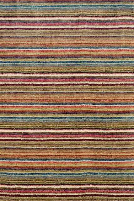 BRINDLE STRIPE SPICE HAND KNOTTED RUG - 10x14 - Dash and Albert