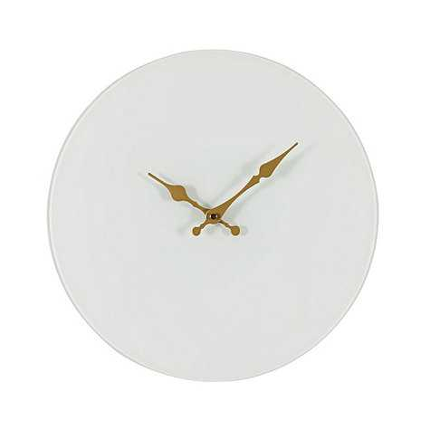 Tessa Wall Clock - White - Ballard Designs