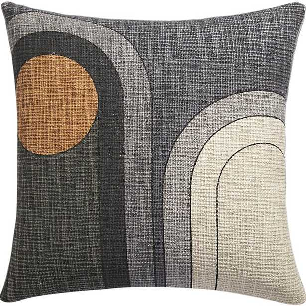 """dream 18"""" pillow - with feather-down insert - CB2"""