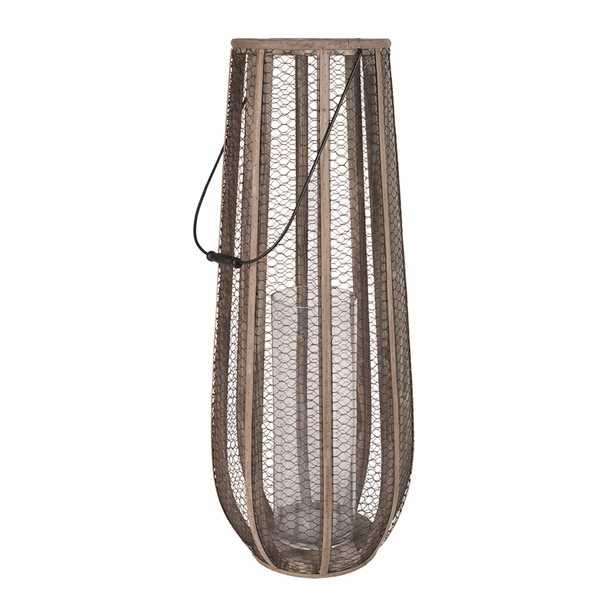 Slim Wire Atlas Hurrican Vase - Rosen Studio