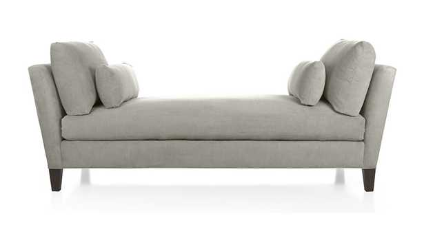 Marlowe Daybed - Silver - Crate and Barrel